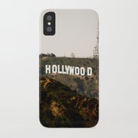 hollywood iPhone & iPod Cases featuring Hollywood by Claire Jantzen