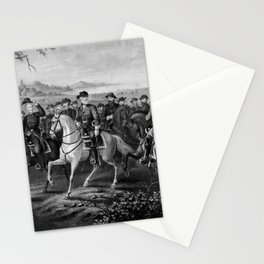 Robert E. Lee and His Generals Stationery Cards