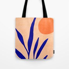 Golden Afternoon II / Abstract Landscape Tote Bag