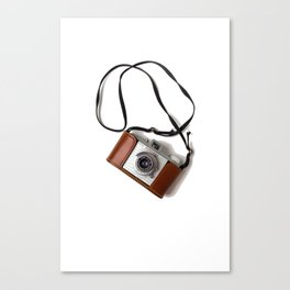 The Photographer (Color) Canvas Print