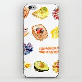 Breakfast iPhone Skin