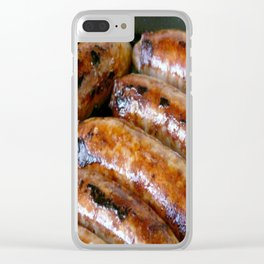 Sausages Clear iPhone Case