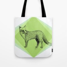 fox in forest Tote Bag