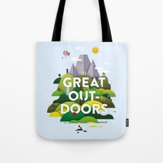 It's Great Outdoors Tote Bag