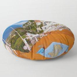 Isle of Capri! Floor Pillow