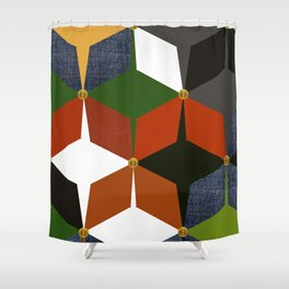 KALEIDOSCOPE 06 #HARLEQUIN Shower Curtain