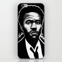 childish gambino iPhone & iPod Skins featuring Gambino Variant by Joshua Beckett