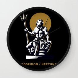 Poseidon / Neptune Wall Clock