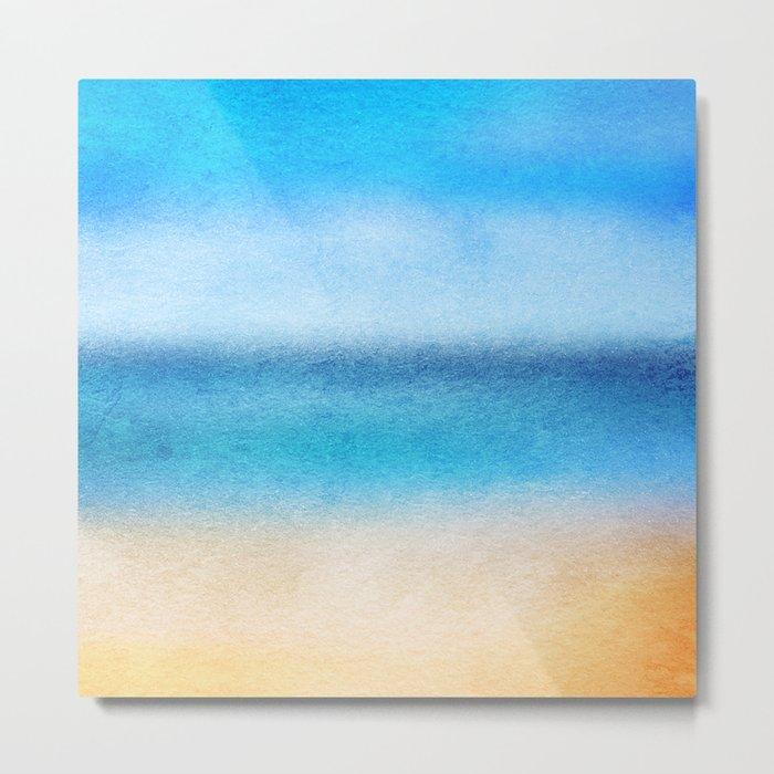 Tropical Sea #4 Metal Print