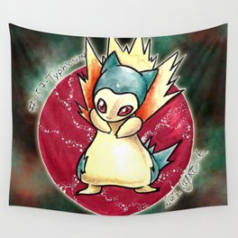 157- Typhlosion Wall Tapestry