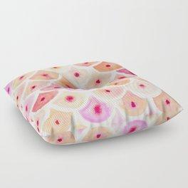 BEWBS Boobs Scale Pattern Floor Pillow