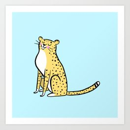 Cheetah Print by ROH NOH Art Print