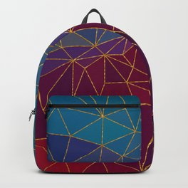 Autumn abstract landscape 7 Backpack