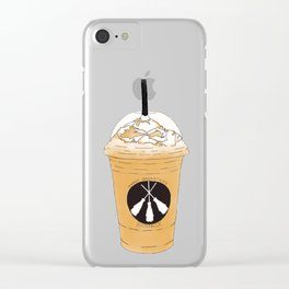Three Broomsticks Clear iPhone Case