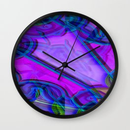 Abstract lighteffects -19- Wall Clock