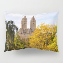 Fall in Central Park Pillow Sham