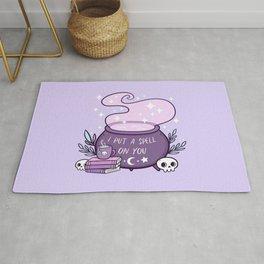 Witch Cauldron // Purple Rug