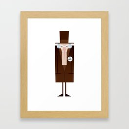 Scrooge 2017 Framed Art Print