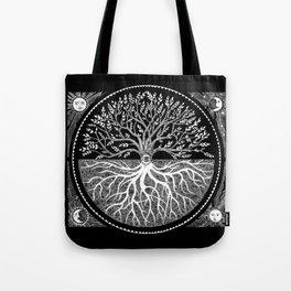 Druid Tree of Life Tote Bag