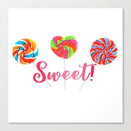 Sweet! Canvas Print