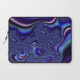 Fractal Art-Blue and Purple Infinity Laptop Sleeve