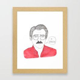 Her - Joaquin Phoenix Framed Art Print