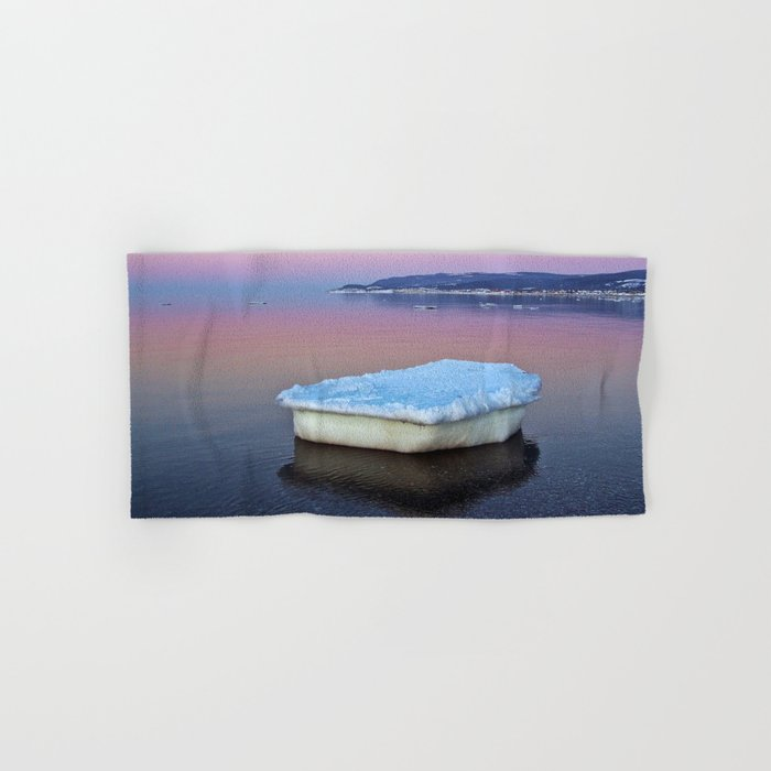 Ice Raft on the Sea Hand & Bath Towel