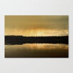 As Night Fallls Canvas Print