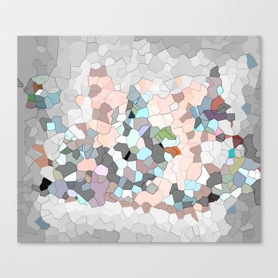 Mermaid Cells  Canvas Print