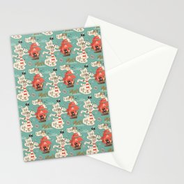 Purr Island and Adventures of Captain Sam n Matey Stationery Cards