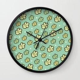 Leaf litter IV Wall Clock