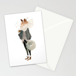 Merry Fox Stationery Cards