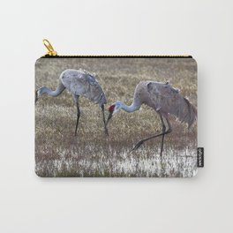 Working in Pairs Carry-All Pouch