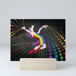 Unicorn Rainbow Maker V02 Mini Art Print