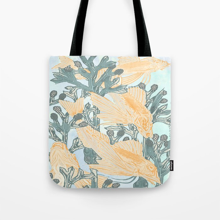 Crazy not to follow Tote Bag