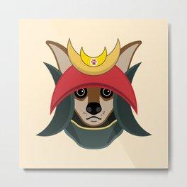 Daimyo Dog Metal Print
