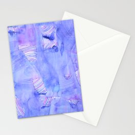 Obscured Candy Swirls Stationery Cards