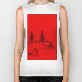 University of Tampa -- Black and Red Biker Tank
