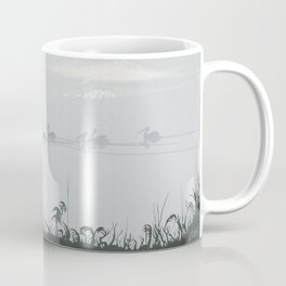 Misty Morning on the Clarence (1994) Coffee Mug