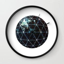 Galaxy Geodesic  Wall Clock