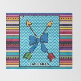 Las Jaras Throw Blanket