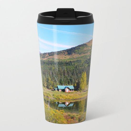Lake Retreat - Alaska Metal Travel Mug