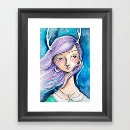 Lavendar Jane Framed Art Print