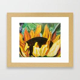 Some Are  Sun Framed Art Print