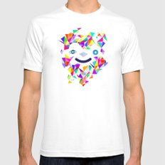 Chromatic character  Mens Fitted Tee White SMALL
