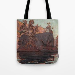 Tom Thomson - Petawawa Gorges - Canada, Canadian Oil Painting - Group of Seven Tote Bag