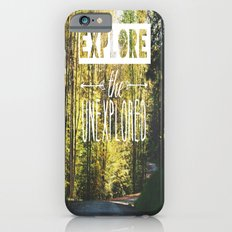 Explore the Unexplored iPhone 6s Slim Case