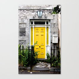 Yellow Door. Canvas Print