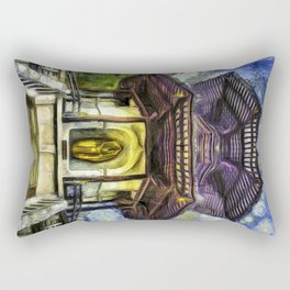 The Pagoda Vincent Van Gogh Rectangular Pillow
