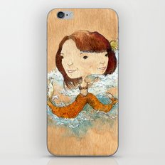 double you waves iPhone & iPod Skin